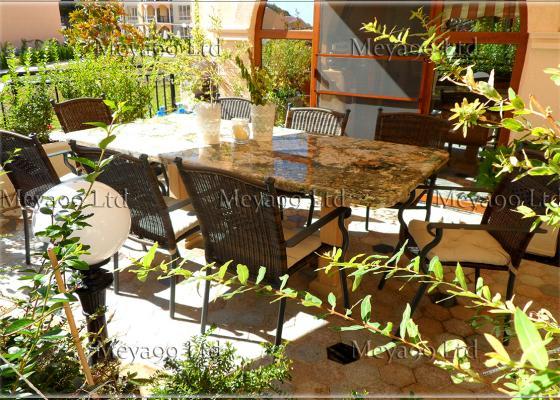 Градинска маса от Гранит, Гранитни павета